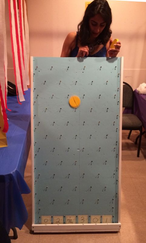 A sample of the games: Plinko