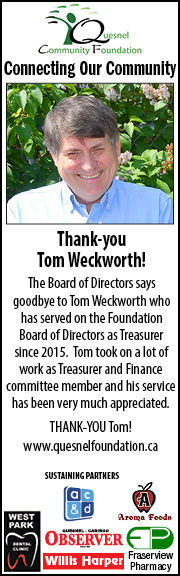 Tom Weckworth retires from the Board