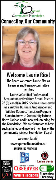 Welcome Laurie Rice