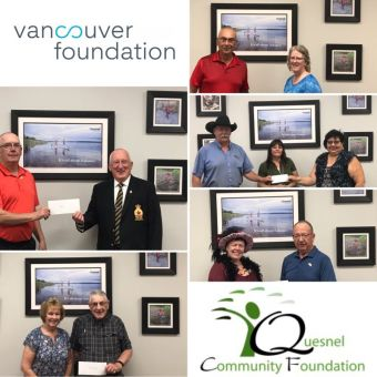 "Quesnel Community Foundation awards $30000 in grants for COVID Relief from the ""In Our Hearts"" Community Response Fund"