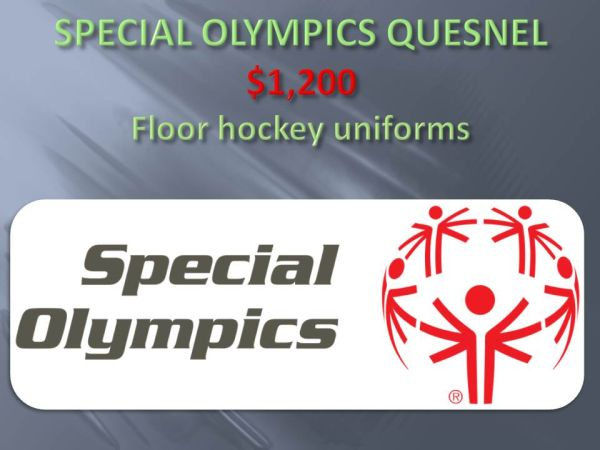 Special Olympics Quesnel